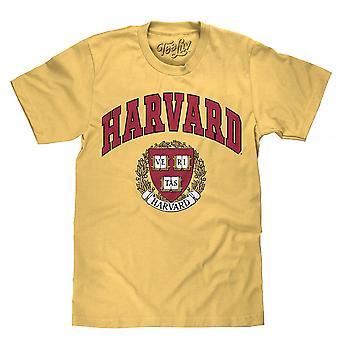 Harvard University Veritas Crest Logo T-Shirt