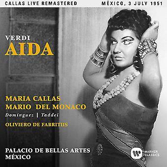 Callas*Maria - Verdi: Aida (Mexico 03/07/1951) [CD] USA import