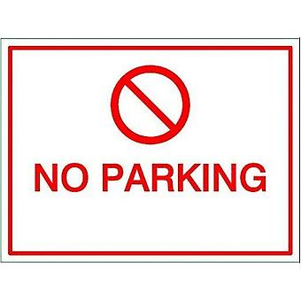 House Nameplate Co No Parking Sign