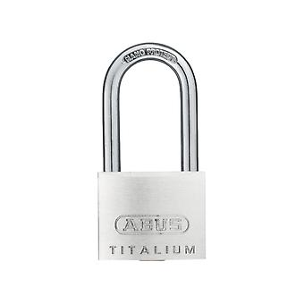 ABUS 64TI/40mm Titalium Padlock 40mm Long Shackle Carded ABU64TI4040C