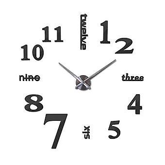 Moderni heijastava akryyli kello