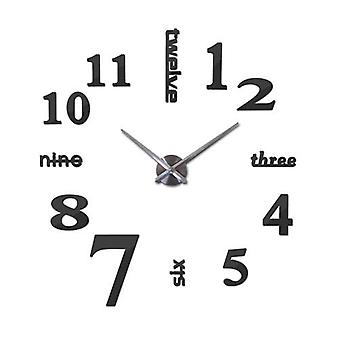 Modern Reflective Acrylic Clock