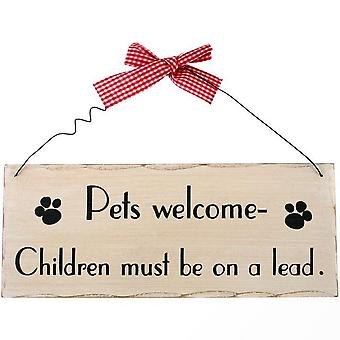 Something Different Pets Welcome Hanging Sign