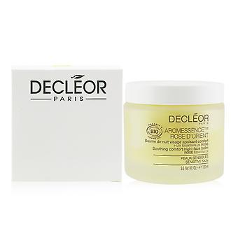 Aromessence rose d'orient soothing comfort night face balsem for sensitive skin (salon size) 247541 100ml/3.3oz
