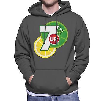 7up Citrus Logo Men's Hooded Sweatshirt