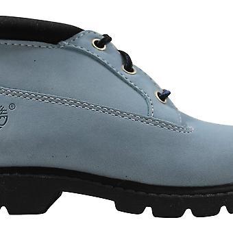 טימברלנד ניומן Chukka אבקת כחול 12850 לפני הלימודים