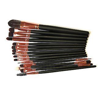 Eyebrush 15 st. professionella Make-up / sminkborstar för ögonen