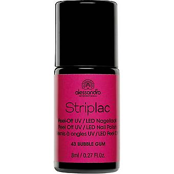 StripLAC Peel Off UV LED Nail Polish - Bubble Gum 8ml (43)