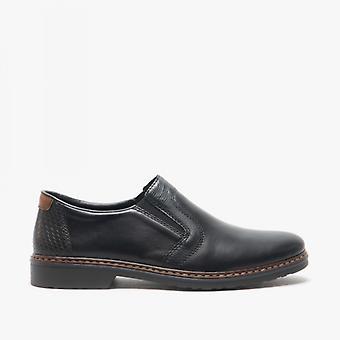 ريكر داستن الرجال تنزلق على الأحذية السوداء