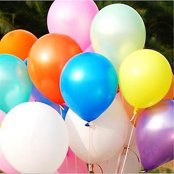 10pcs اللاتكس الهيليوم بالون -- سماكة بالونات حزب اللؤلؤ