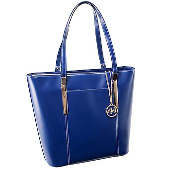 97737, Leather Ladies' Tote With Tablet Pocket