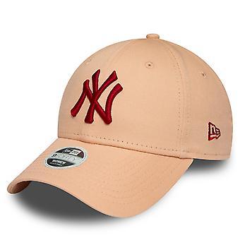 New Era 9Forty Women's Cap - New York Yankees Pink / Red