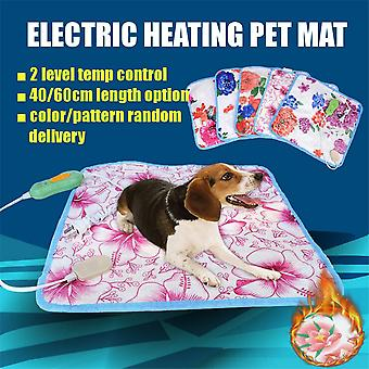 Blanket & Mat Winter Warmer Bed Pad for Home Office Chair Heater 220V Random Patterns Electric Heater Pad for Cat & Dog