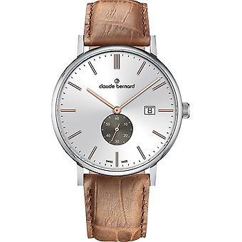 Claude Bernard - Wristwatch - Men - Slim line small second - 65004 3 AIRG