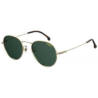 Sunglasses Unisex 216/G/S panto gold with green glass