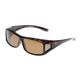 Sunglasses Unisex Brown with Brown Lesson VZ0001B