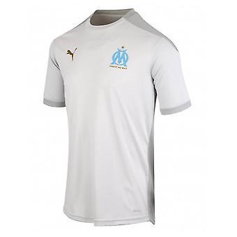 2020-2021 Marseille Training Shirt (Grey)