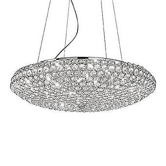 Ideel Lux King - 12 lys stort loft vedhæng Krom, G9