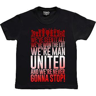 Noi've visto tutto.... Black Kids' T-Shirt