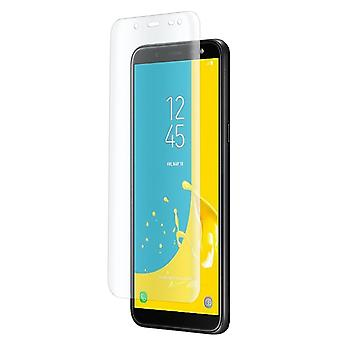 1x Full Cover for Samsung Galaxy J6 (2018) Tempered Glass Protective Glass Transparent