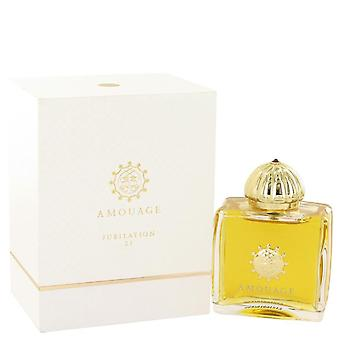 Amouage Jubilation 25 Eau De Parfum Spray By Amouage 3.4 oz Eau De Parfum Spray