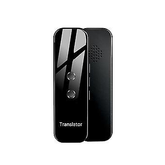 Flerspråk Mini Wireless G6 Smart Instant Tvåvägs Realtidsspråk Röstöversättare