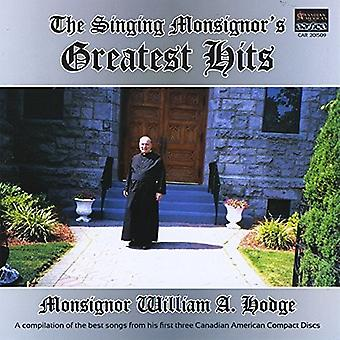 Singing Monsignors Greatest Hits [CD] USA import