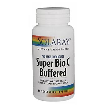 Solaray Super Bio C Buffered, 60 Caps