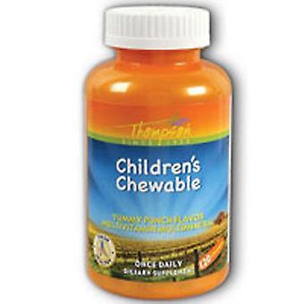 Thompson Multi Vitiamin/Mineral, Children's Chewable Punch 120 Tabs
