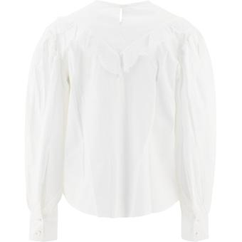 Isabel Marant ÉToile Bs003720a069e20wh Women's White Cotton Blouse