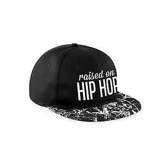 CID Originals Raised On Hip Hop Marbled Snapback Cap