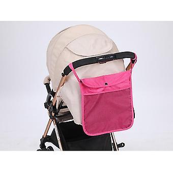 Baby Cart Mesh Opknoping, Opbergtas, Trolley Seat met Pocket Carriage Bag