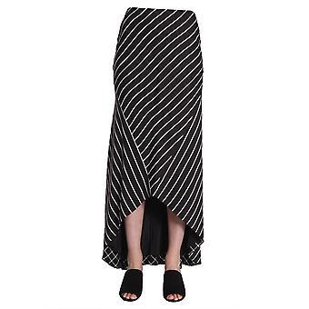 Haider Ackermann 1835600143099 Women's Black Viscose Skirt