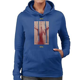 Psycho Bates Motel Norman Bates Mirror Effect Women's Hooded Sweatshirt