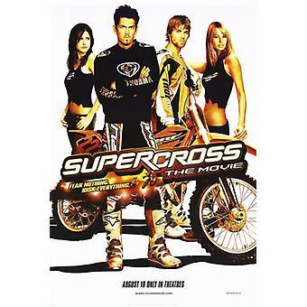 Supercross Movie Poster drucken (27 x 40)