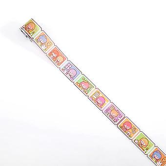 Cute Daily Life Journal Pet Washi Tape - Adhesive Scrapbooking Stickers