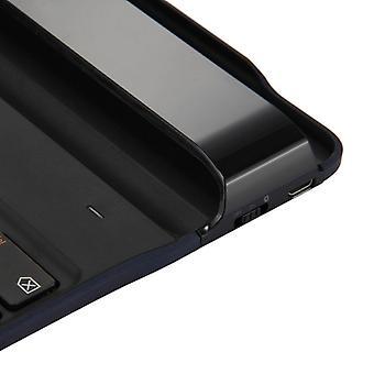 Lenovo Tab A10 BKC510 Erittäin ohut langaton Bluetooth-näppäimistön kansi, espanjankielinen versio (musta)