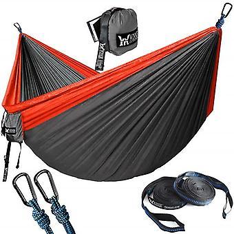 Opgraderet dobbelt camping hængekøje