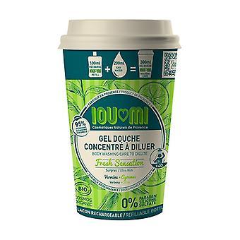Concentrated shower gel - Verbena / Citrus Starter kit 100 ml of gel