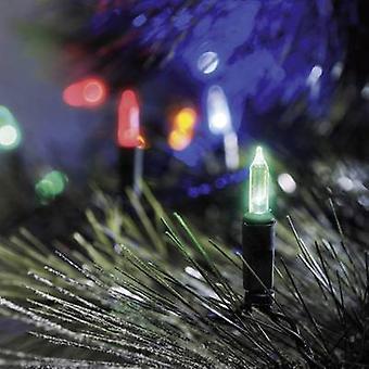 Konstsmide 6004-500 Holiday lights (mini) Outside mains-powered No. of bulbs 40 LED (monochrome) Multi-colour Illuminated length: 8.85 m