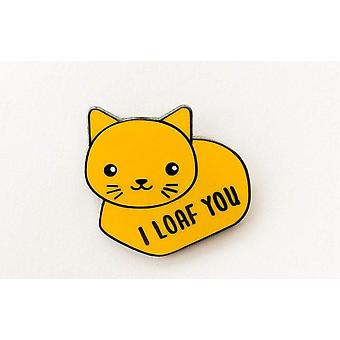 Cat Loaf Email Pin