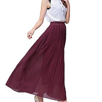 Plisovaná šifonová sukně