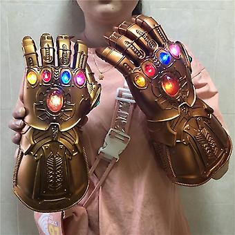 Gauntlet Action Figur Led Light Cosplay Thanos Handsker Prop Voksen Kid