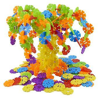Snowflake Building Blocks Toy- Educational