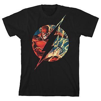 Boys flash tshirt superhero clothing youth justice league shirt