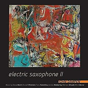 John Sampen - Electric Saxophone II [CD] USA import