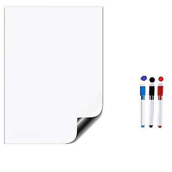 לוח ציור מגנטי מגנט מקרר ויניל רך, לוח תזכירים משרדי מחיק
