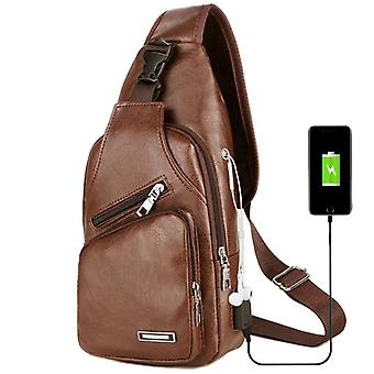 Anti-theft Shoulder Messenger & Crossbody Short Trip, Chest Bag