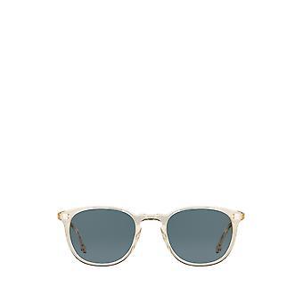 Garrett Leight KINNEY SUN champagne unisex sunglasses