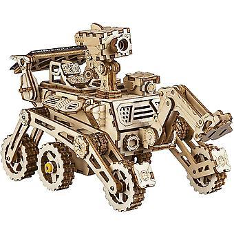 ROBOTIME Solar Rover Science Kit to Build - DIY Robot Car Model Kits Adults